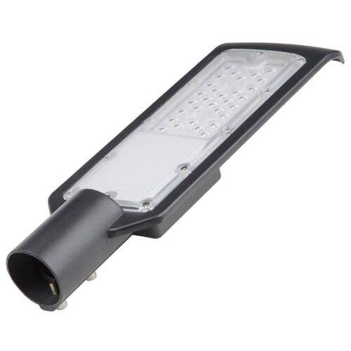 Уличный светодиодный светильник консольный (UL-00006084) Volpe ULV-Q610 30W/6500К IP65 BLACK светильник volpe уличный светодиодный консольный ul 00006084 ulv q610 30w 6500к ip65 black