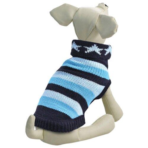 Фото - Свитер для собак Triol 12271427 XXL синий/голубой triol triol xxl подгузник для собак весом от 30 кг 10 шт
