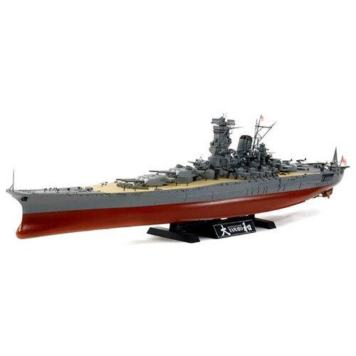 artwox 78014 battleship yamato tamiya black wooden deck aw10004a Сборная модель Tamiya Японский линкор Yamato (78030) 1:350