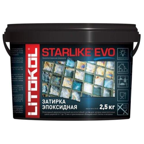 Эпоксидная затирочная смесь LITOKOL STARLIKE EVO S.430 Verde Pino, 2,5 кг