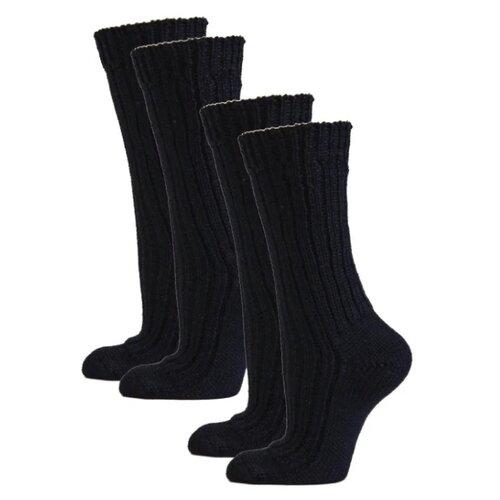 Носки HOSIERY 71505, 2 пары, размер 23-25, черный