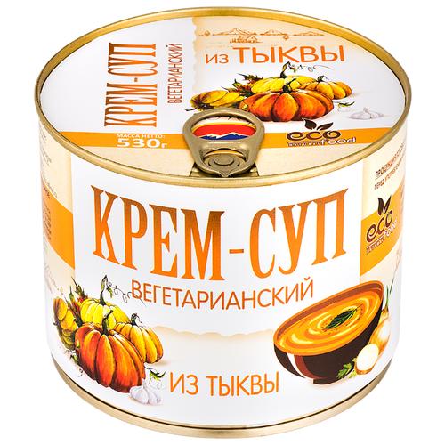 Крем-суп вегетарианский из тыквы, 530г ECOFOOD