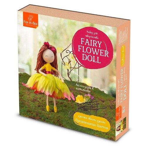 Купить FB606707 Набор для творчества Куколка своими руками 'Продавщица Цветов', Fox-in-Box, Изготовление кукол и игрушек