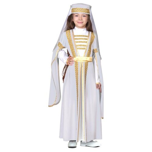 Купить Карнавальный костюм Страна Карнавалия Для лезгинки, для девочки, р. 34, рост 134-140 см, белый (3983202), Карнавальные костюмы