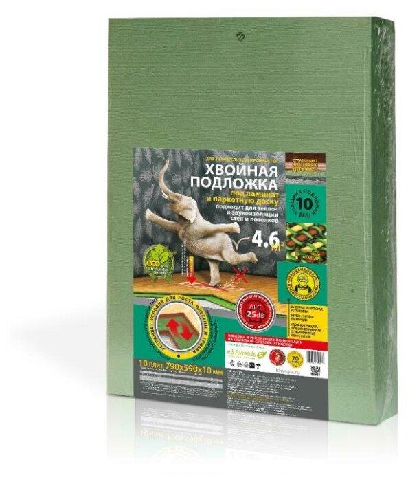 Купить Хвойная подложка Steico 10 мм под ламинат и паркетную доску 4,6м2 по низкой цене с доставкой из Яндекс.Маркета
