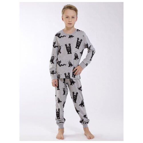 Купить Пижама Roxy Foxy размер 128, серый меланж, Домашняя одежда