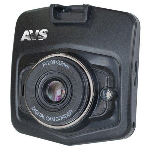 Видеорегистратор AVS VR-125HD-V2, черный видеорегистратор avs vr 802shd черный