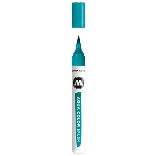 Купить Маркер на водной основе Molotow AQUA COLOR BRUSH #013 turquoise 727213, Фломастеры и маркеры