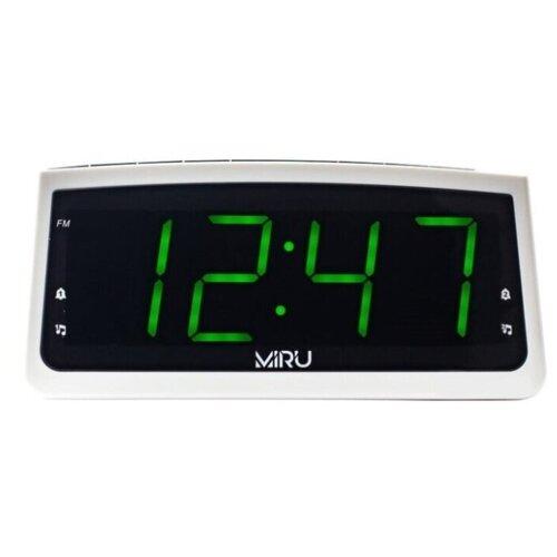 Радио-часы MIRU СR-1009 с функцией зарядки смартфона, планшета