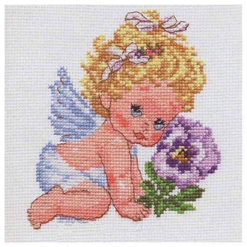 Купить 0-14 Набор для вышивания АЛИСА 'Ангелок счастья' 12*14см, Алиса, Наборы для вышивания