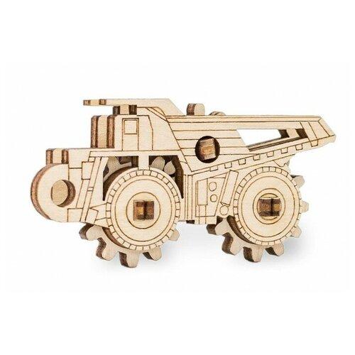 Сборная модель Eco Wood Art БелАЗ 2d