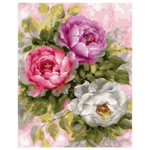 Купить Картина по номерам на холсте Paintboy Три Розы , 40х50 см, GX-25869, Картины по номерам и контурам
