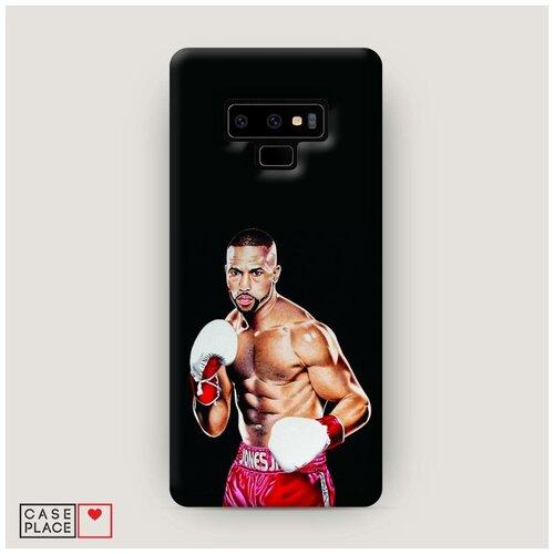 Чехол Пластиковый Samsung Galaxy Note 9 Рой Джонс 1