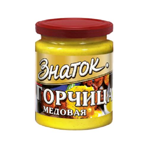 Горчица Медовая Знаток -0,170 кг) стекло Калининград