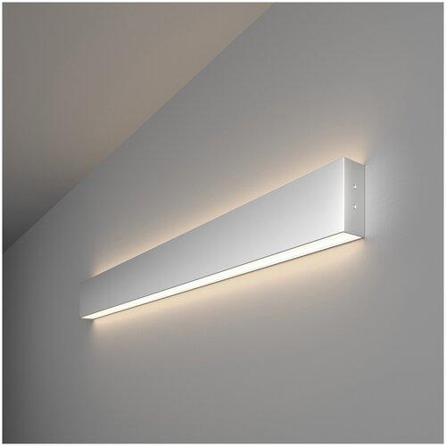 Линейный светодиодный накладной двусторонний светильник 78см 30Вт 4200К серебряный Elektrostandard Pro Линейный светодиодный накладной двусторонний светильник 78см 30W 4200K матовое серебро (101-100-40-78)