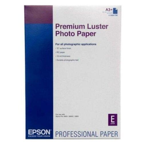 Фото - Epson C13S041785 Бумага Premium Luster Photo Paper A3+, 235 г/м2, 100 листов premium luster photo paper 24 610мм х 30 5м 260 г м2 c13s042081