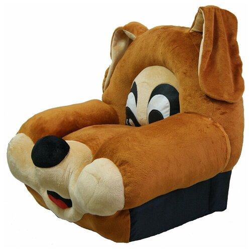 Кресло мягкое для детей,детская мебель, мягкая игрушка,детское кресло Собака мягкая мебель