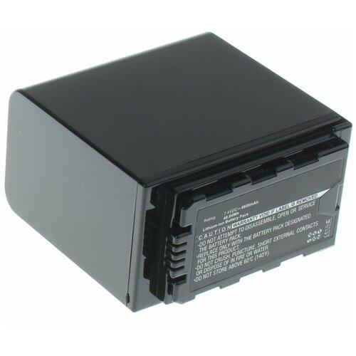 Фото - Аккумулятор iBatt iB-B1-F437 6600mAh для Panasonic VW-VBD58, VW-VBD78, VW-VBD29, аккумулятор ibatt ib b1 f457 3400mah для panasonic vw vbt190 vw vbt380 vw vby100 vw vbt380e k