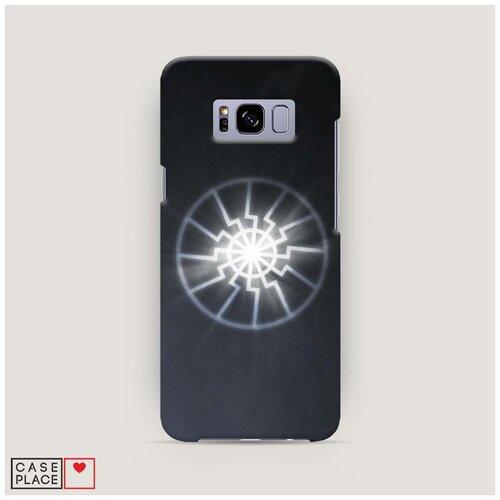 Чехол Пластиковый Samsung Galaxy S8 Черное солнце