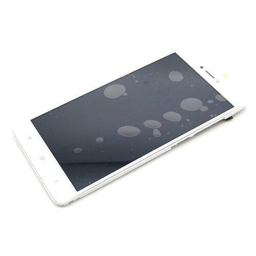 Дисплей с рамкой для Xiaomi Redmi Note 4X/Note 4 Global Version (белый)