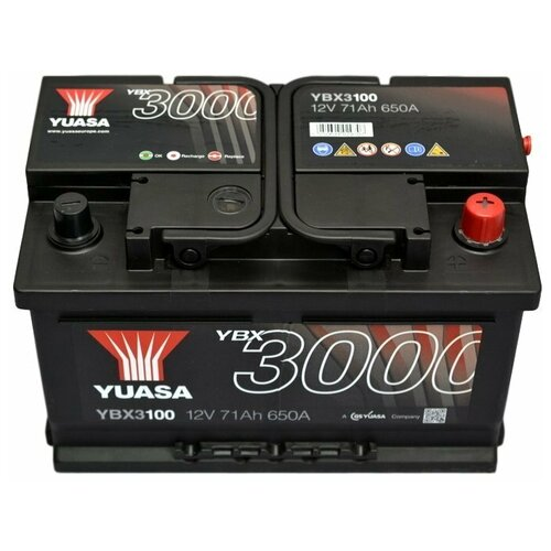 Yuasa YBX3100 71Ач 680А [-+] низкий