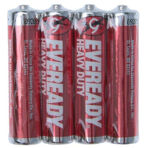 Фото - Батарейка AAA - Energizer Eveready R03 1.5V (4 штуки) E301156200 батарейка фаza aaa r03 heavy duty 4 шт
