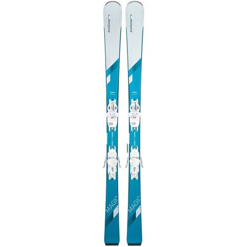 Горные лыжи с креплениями Elan White Magic Light Shift (20/21), 146 см