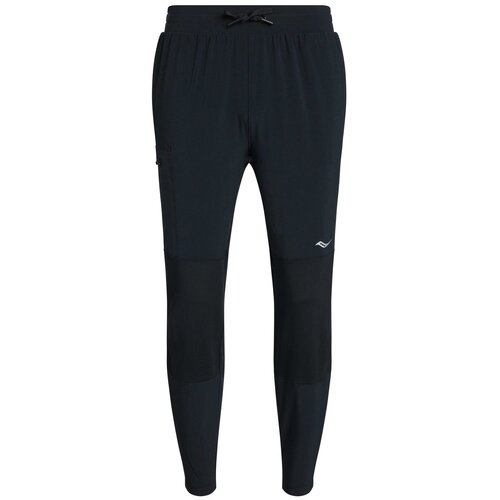 Брюки Saucony Summit Jogger, размер M, black брюки columbia m csc log fleece jogger ii размер m black city grey