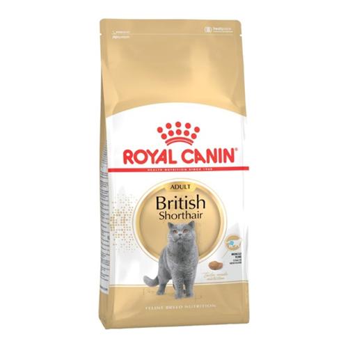 Сухой корм для кошек британской короткошерстной породы Royal Canin British Shorthair 34 4 кг royal canin royal canin british shorthair 34 для породы британская короткошерстная старше 12 мес 4кг