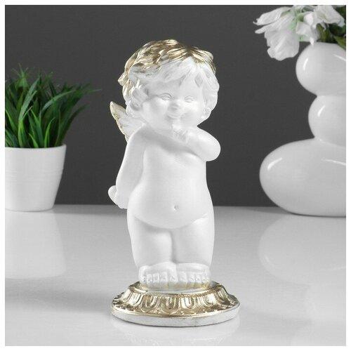 Фигура Малышка ангел белая 25х12х12см 4786376 фигура малышка ангел белая 25х12х12см 4786376