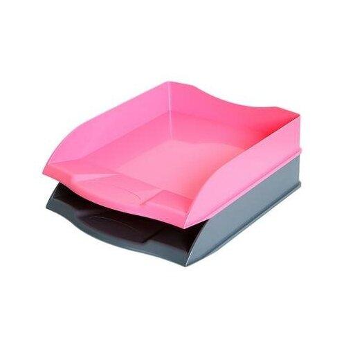 Купить Лоток для бумаг горизонтальный Attache Selection цвет ассорти (2 штуки в упаковке) 1 шт., Лотки для бумаги