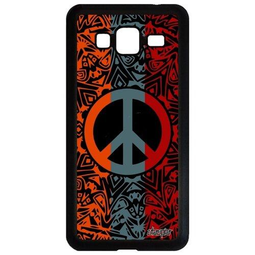 Фото - Чехол на мобильный Samsung Galaxy J3 2016, Peace and Love Мир и Любовь Стрит-арт чехол with love moscow w003969sam для samsung galaxy j3 2016 девушка с вином