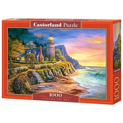 Пазл Castorland Освещая путь 1000 эл. 4161/C-104161 пазл castorland 1000 эл сердце лондона 41664