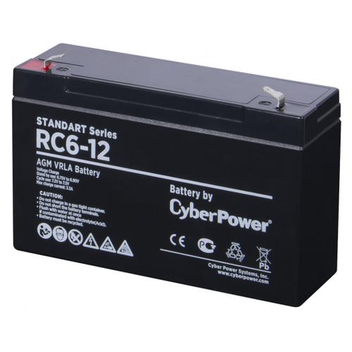 Аккумуляторная батарея CyberPower RC6-12 12 А·ч