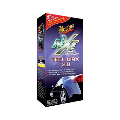 G12718 Meguiar's NXT Generation Tech Liquid Wax 2.0 защитный воск, 532мл