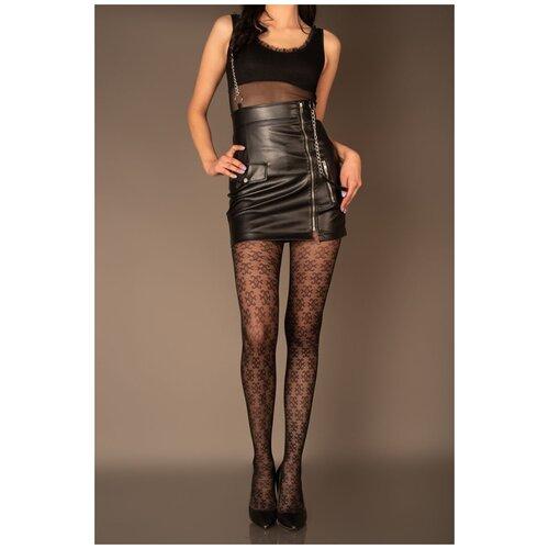 Livia Corsetti Пикантные женские колготки Niceassen с узором, черный, 3 размер