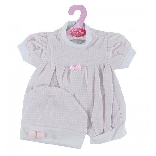 Antonio Juan Летний комплект одежды для кукол 42 см 0142Z-20 розовый фото