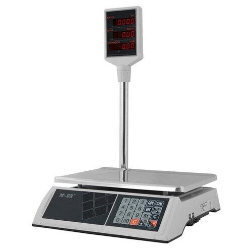 Весы торговые электронные M-ER 327ACP-32.5 LCD Ceed White