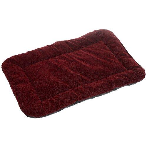 Лежак для собак и кошек Зоо Марк Матрас №3 44х62х4.5 см бордовый