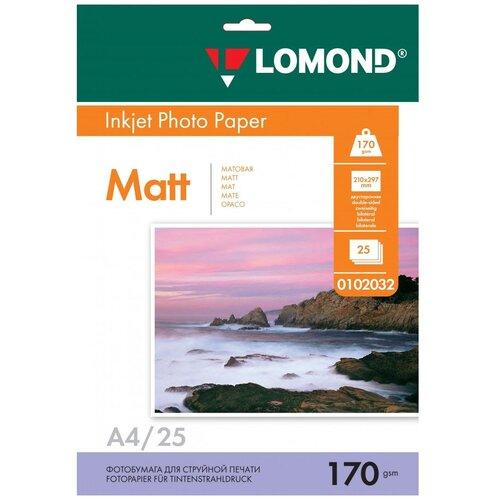 Фото - Бумага Lomond A4 Photo Paper 0102032 170 г/м² 25 лист., белый бумага lomond a4 premium photo paper 1104101 280 г м² 20 лист белый