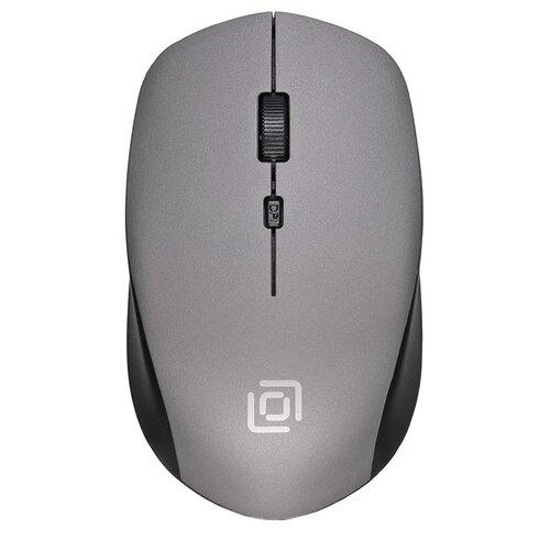 Беспроводная мышь OKLICK 565MW, black/grey