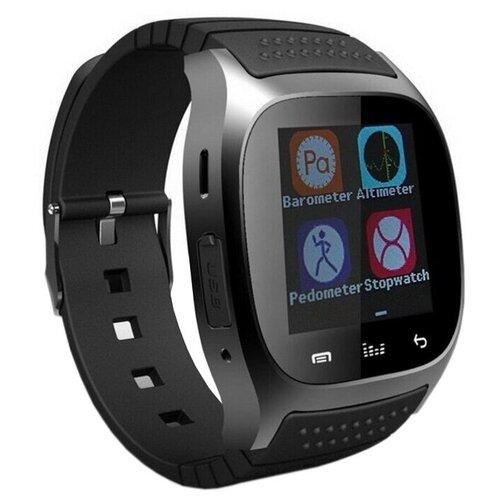 Фото - Умные часы Beverni Smart Watch M26 (черный) умные часы beverni smart watch t58 серебристый