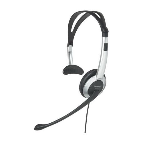 Проводная гарнитура Panasonic RP-TCA430 черно-серебристый