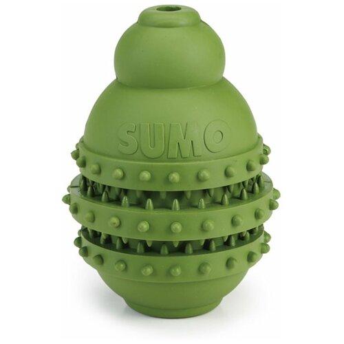 Игрушка для собак Beeztees Sumo Play Dental для зубов M зеленый