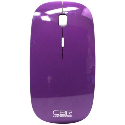 Беспроводная мышь CBR CM 700, фиолетовый