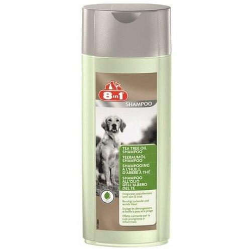Фото - Шампунь 8 In 1 Tea Tree Oil Shampoo с маслом чайного дерева для собак 250 мл гель смазка sico tea tree oil с маслом чайного дерева 100 мл