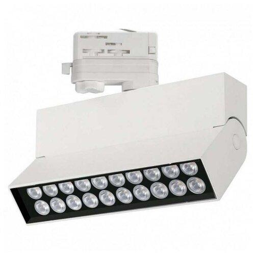 Трековый светильник-спот Arlight LGD-LOFT-TRACK-4TR-S170-20W White6000 (WH, 24 deg) трековый светильник спот arlight lgd loft track 4tr s170 20w white6000 wh 24 deg