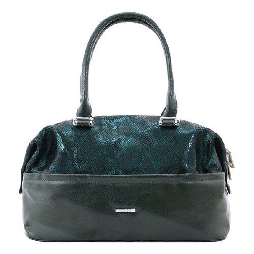 322-69 2245 Женская сумка замшевая Ludor Зеленый