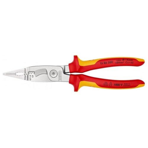 Стриппер Knipex 13 86 200 красный/желтый