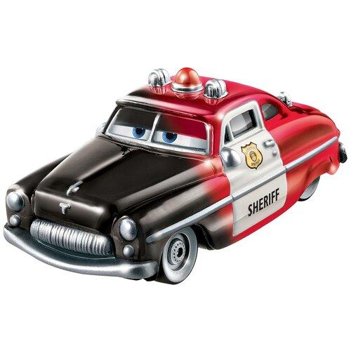 Фото - Легковой автомобиль Mattel Cars меняющая цвет Шериф (GNY94/GTM39) 1:55, красный/черный легковой автомобиль mattel